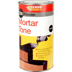 Everbuild Everbuild 208 Powder Mortar Tone 1kg Black - 12419 - from Toolstation
