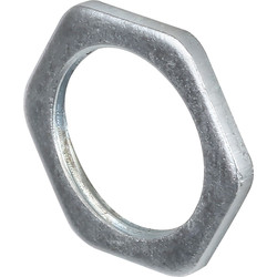 Unbranded Galvanised Lock Nut 20mm - 12421 - from Toolstation