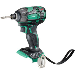 Hikoki Hikoki WH18DBDL2 18V Li-Ion Cordless Brushless Impact Driver Body Only - 12439 - from Toolstation