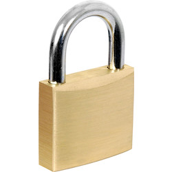 Squire Squire Watchman Brass Padlock 40 x 6 x 21mm KA - 12496 - from Toolstation