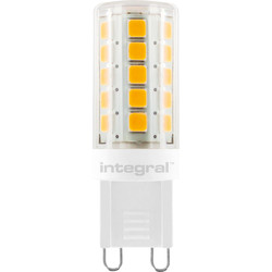 Integral LED Integral LED G9 Capsule Dimmable Lamp 3.0W Warm White 300lm - 12542 - from Toolstation