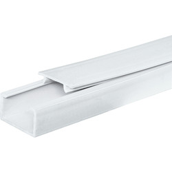 Mini Trunking 3m 38 x 25mm - 12544 - from Toolstation