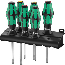 Wera Wera Kraftform Plus Lasertip Screwdriver Set  - 12615 - from Toolstation