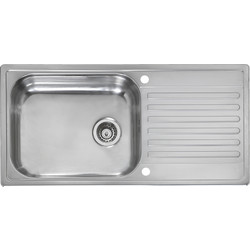 Reginox Reginox Stainless Steel Single Bowl Kitchen Sink  - 12691 - from Toolstation