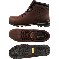 Stanley Stanley Boston Safety Boots Brown Size 8 - 12726 - from Toolstation