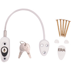 Era ERA Window Safety Restrictor White - 12868 - from Toolstation