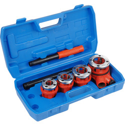 "HEAD Pipe Threading Kit 1/2"", 3/4"", 1"", & 1 1/4"" - 12932 - from Toolstation"