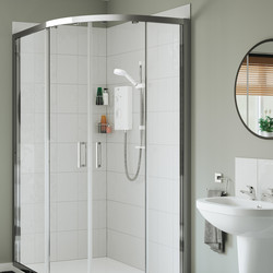 Mira Sport Shower White