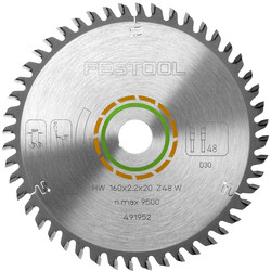 Festool Festool TS55 Saw Blade 160 x 2.2 x 20mm Fine Tooth - 12964 - from Toolstation
