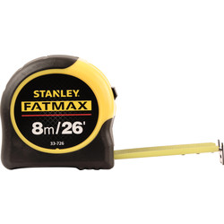 Stanley FatMax Stanley FatMax Classic Tape Measure 8m - 12971 - from Toolstation