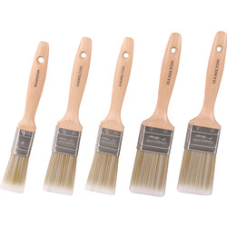 Hamilton Hamilton Prestige Synthetic Paintbrush Set 5 Piece - 12999 - from Toolstation