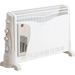 Daewoo Daewoo Turbo Convector Heater & Timer 2kW - 13022 - from Toolstation