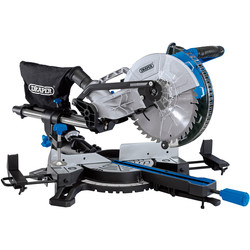 Draper Draper 255mm Sliding Compound Mitre Saw 230V - 13082 - from Toolstation