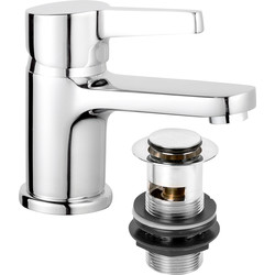 Highlife Etive Cloakroom Basin Mixer Tap  - 13141 - from Toolstation