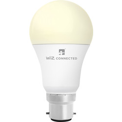 4lite WiZ 4lite WiZ LED A60 Smart Bulb Wi-Fi 9W BC 806lm - 13145 - from Toolstation