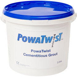 PowaTwist PowaTwist Crack Stitching Kit 3L Repair Grout - 13205 - from Toolstation