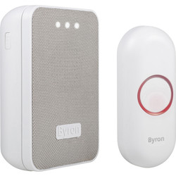 Byron Byron Wireless Portable Doorbell Set DBY-22321 - 13259 - from Toolstation