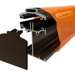 Alukap Alukap-SS Self Support Bar Brown 4800mm - 13303 - from Toolstation
