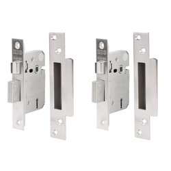 Forge Hardware Forge Keyed Alike Lock Set Sashlock Set - 13315 - from Toolstation