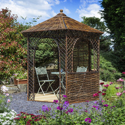 Rowlinson Rowlinson Willow Gazebo 265cm (h) x 264cm (w) x 256cm (d) - 13373 - from Toolstation
