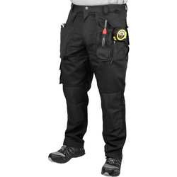 "Endurance Endurance Tradesman Trousers 34"" R Black - 13379 - from Toolstation"