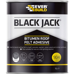 Everbuild Roofing Felt Adhesive 1L - 13429 - from Toolstation