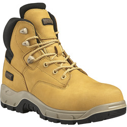 Magnum Magnum Sitemaster Waterproof Safety Boots Honey Size 7 - 13439 - from Toolstation