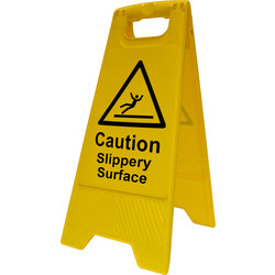 Caution A-Board Slippery Surface - 13549 - from Toolstation