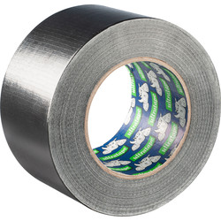 Heavy Duty Cloth Duct Tape Black 72mm x 50m