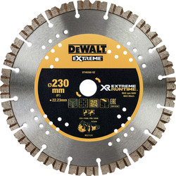 DeWalt DeWalt Extreme Runtime Diamond Wheel 230 x 22mm - 13670 - from Toolstation