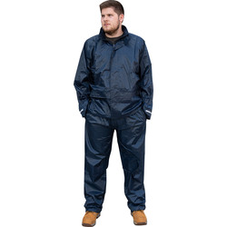 Portwest Navy Waterproof Jacket Large - 13699 - from Toolstation