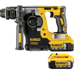 DeWalt DeWalt DCH274P2-GB 18V Li-Ion Brushless SDS Hammer Drill 2 x 5.0Ah - 13705 - from Toolstation