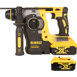 DeWalt DeWalt DCH273 18V Li-Ion Brushless SDS Hammer Drill 2 x 5.0Ah - 13879 - from Toolstation