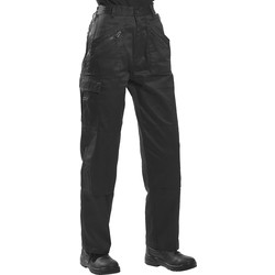 Womens Action Trousers Medium Black