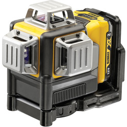 DeWalt DeWalt DCE089D1G 12V 3x360 Multi Line Laser Green - 13946 - from Toolstation