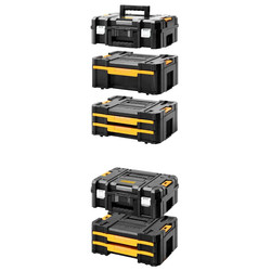 DeWalt TSTAK BOX Combo II & IV