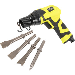 Draper Storm Force 65142 Air Hammer Chisel Set