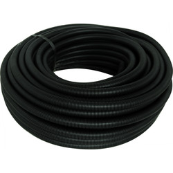 Profix Polypropylene Flexible Conduit Kit 10m 25mm Black - 14079 - from Toolstation