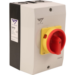 IMO Stag IMO Stag 4 Pole Rotary Isolator 40A IP65 - 14085 - from Toolstation