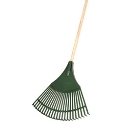 "Bulldog Plastic Lawn & Leaf Rake 1519mm (60"")"