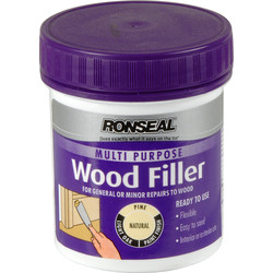 Ronseal Ronseal Multi Purpose Wood Filler 250g Natural - 14141 - from Toolstation