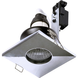 Spa Lighting SPA Square Shower Light GU10 35W IP65 Chrome - 14240 - from Toolstation