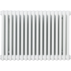 Arlberg Arlberg 2 Column Horizontal Radiator 500 x 854mm 2358Btu White - 14334 - from Toolstation