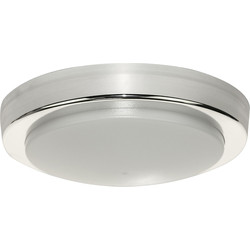 Luceco LUCECO Round IP54 ECO Decorative Indoor Bulkhead 14W 1300lm - 14390 - from Toolstation