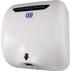 Automatic Hand Dryer White 1800W - 14455 - from Toolstation