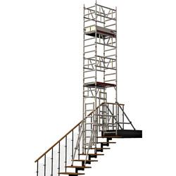 POP UP POP UP Mi TowerStairs 2.2m, SWH 4.2m - 14457 - from Toolstation