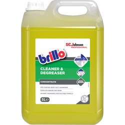 Brillo Brillo Cleaner & Degreaser 5L - 14558 - from Toolstation