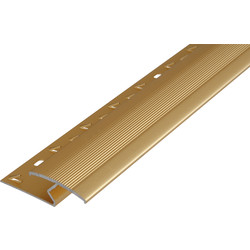 Laminate to Carpet Joiner Gold - 14751 - from Toolstation
