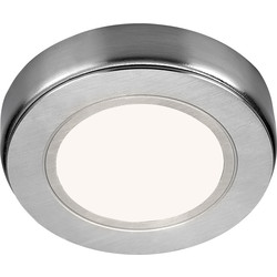 Sensio Sensio LED Low Voltage Round Under Cabinet Light 24V Warm White 80lm fitting only - 14781 - from Toolstation
