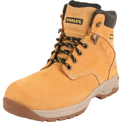 Stanley Stanley Impact Safety Boots Honey Size 9 - 14823 - from Toolstation